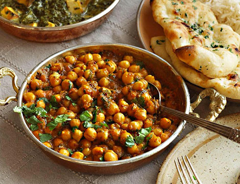 Menu indiano d'asporto