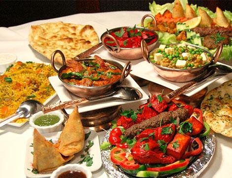 Menu indiano di carne x2 o 4