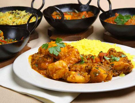 Menu indiano di carne_N