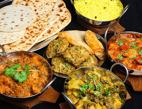 Menu indiano per 2 o 4 persone