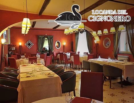 Menu gourmet Locanda del Cigno Nero_N