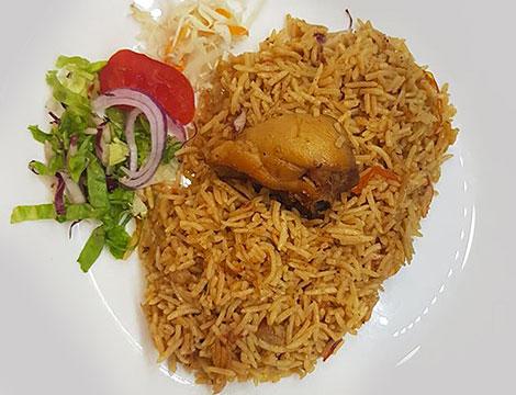 Menu tipico pakistano per 2 o 4 persone