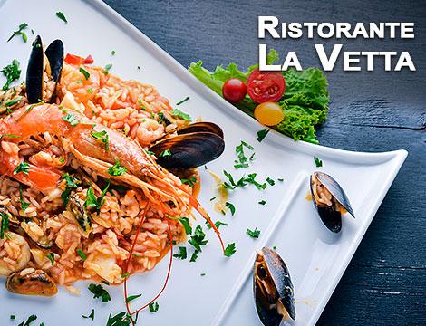Menu pesce Ristorante La Vetta