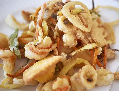 1 kg di fritto misto di pesce