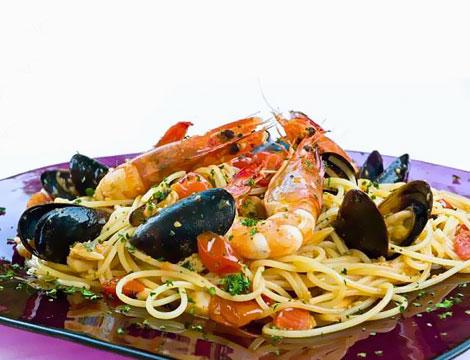 Menu pesce gourmet Lago di Como