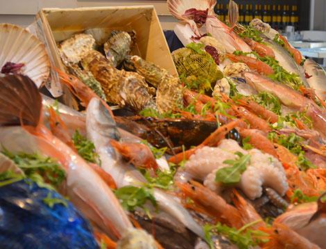 Menu pesce Ambasciatori Partenopei