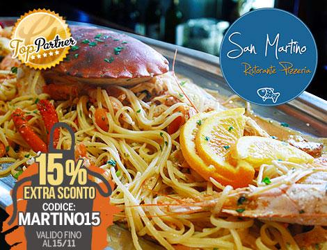 Menu pesce x2 San Martino