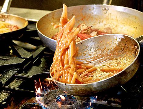 Ristorante San Martino preparazione dei piatti
