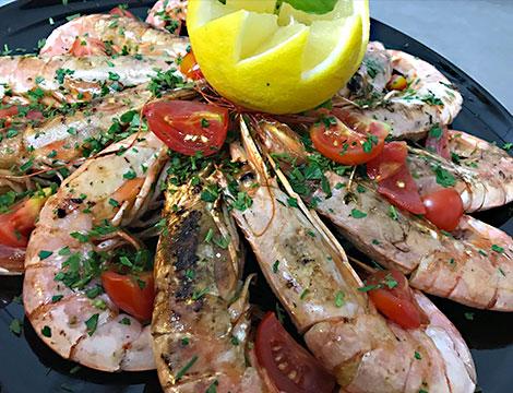 menu di pesce Genova Ristorante Oro Nero