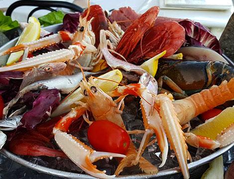 O' Sole Mio menu pesce x2 a Sorrento