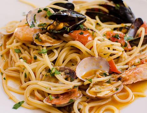 menu di pesce x 2 Via Dei Cappellari