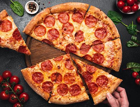 Menu pizza fino a 6 persone