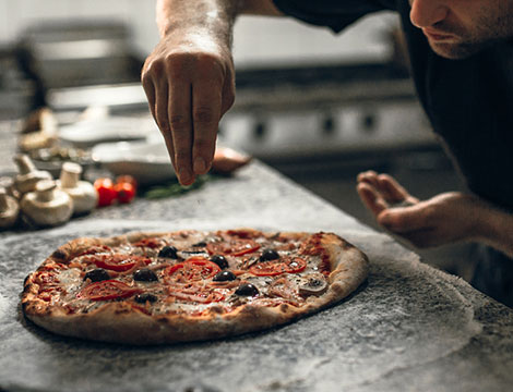 Menu pizza a scelta per 2 o 4 persone