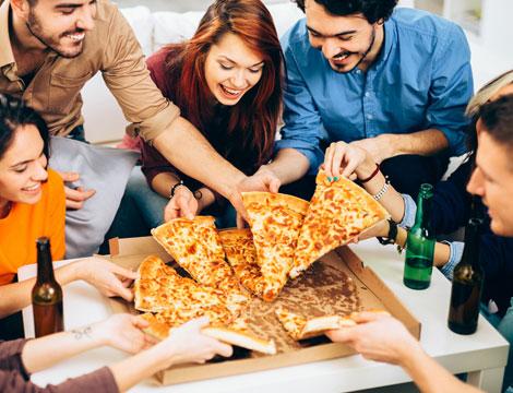 Menu pizza d'asporto L.go dei Colli Abani