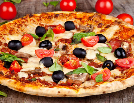 Menu pizza fino a 4 persone