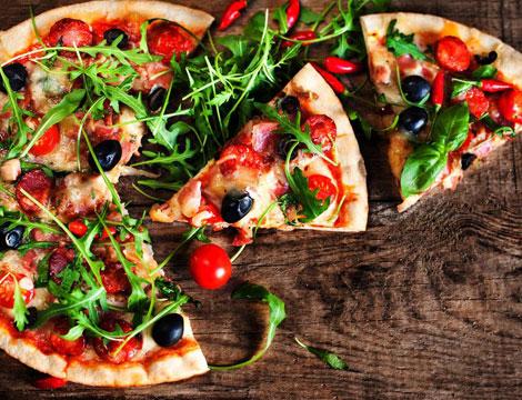 Menu pizza in Stazione centrale
