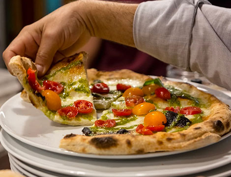 Menu pizza Via della Fonderia