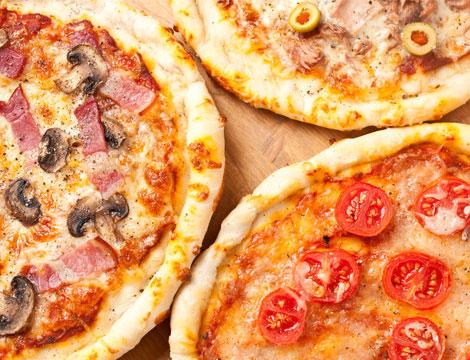 Menu pizza x2
