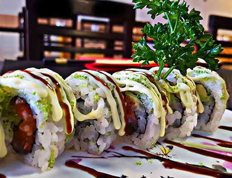 Menu sushi in centro a Padova