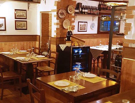 Menu tipico milanese: ristorante con dehors