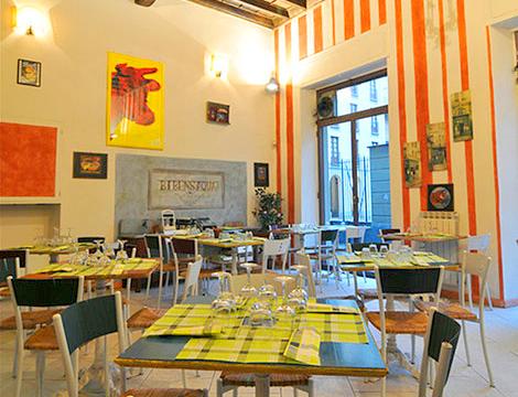 Salumerie Falchero Torino sala interna