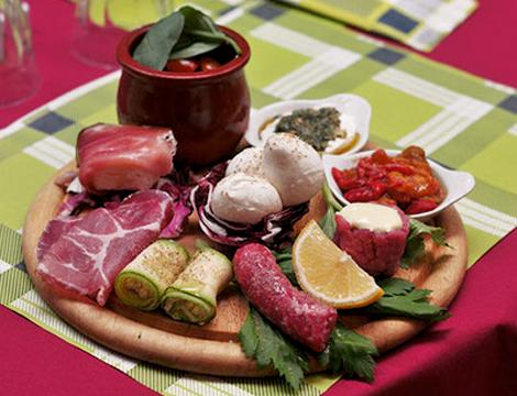 Salumerie Falchero Torino antipasto