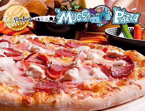 Mucca Pazza: menu pizza x2 Monteverde