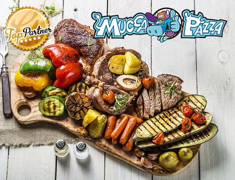 Mucca Pazza Monteverde menu grigliata x2
