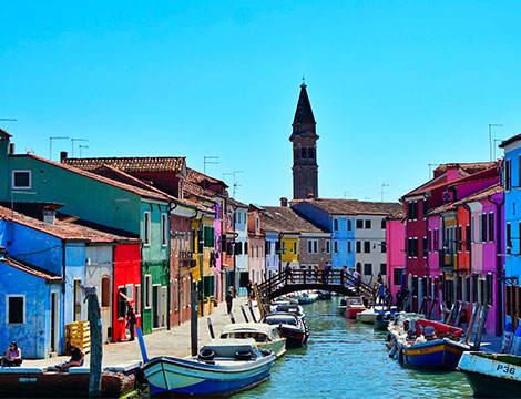 Tour Murano Burano Torcello con giro panoramico
