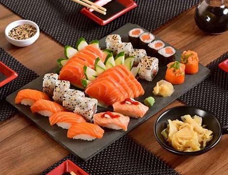 Nagasaki Japanese Restaurant menu sushi