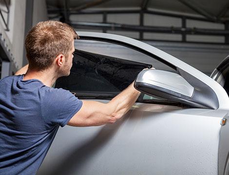 Oscuramento vetri auto