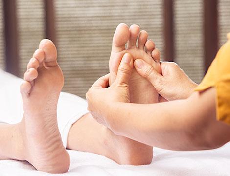 trattamenti a scelta Napoli massaggio piedi