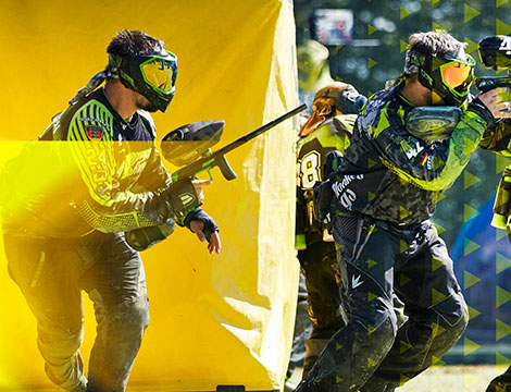 Partita di paintball fino a 8 persone