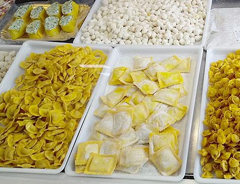 Fino a 3 kg a scelta tra pasta fresca semplice o ripiena, pizza o lasagna