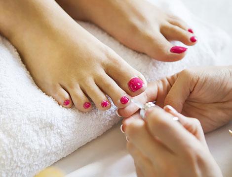 Pedicure e massaggio piedi