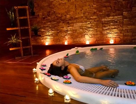 Percorso spa di coppia da Il regno di Dioniso
