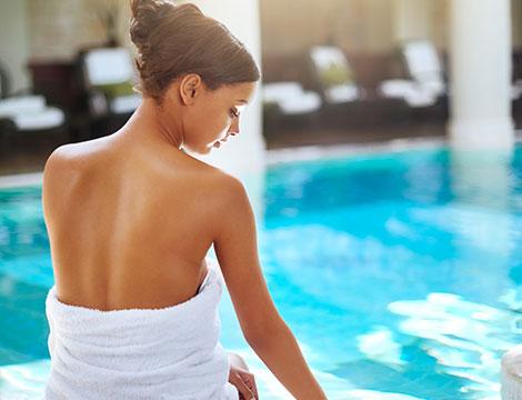 Percorso wellness da 30 minuti e massaggio a scelta