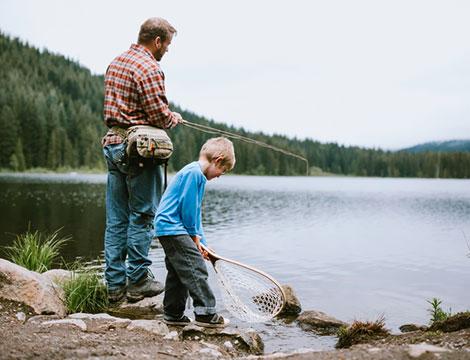 Esperienza di pesca alla trota_N