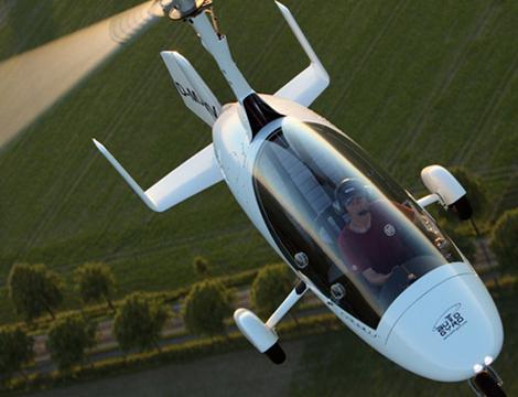 Volo su autogiro MTO Sport