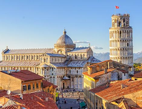 Pisa tour della città con ingresso alla torre