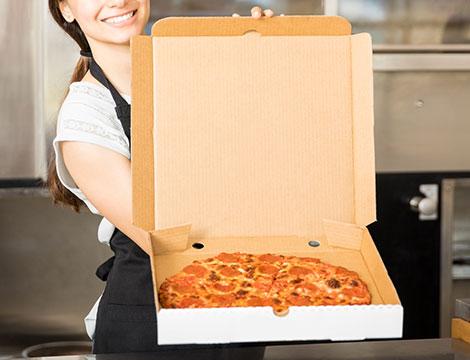 Pizza da asporto prezzo SHOCK