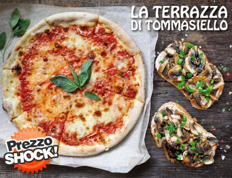 Menu pizza e bruschetta x2 Prezzo shock