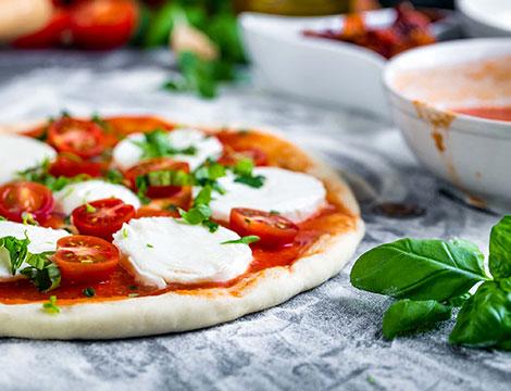 Pizza napoletana a Torino