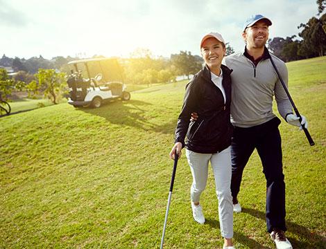 4 portate piu lezione di golf