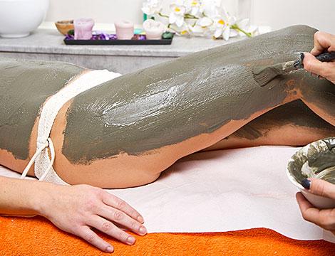 Presso fanghi massaggio