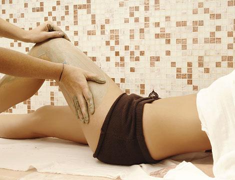 10 trattamenti di presso terapia 10 fanghi drenanti
