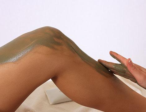 5 sedute di pressoterapia e fango specifico e massaggio finale