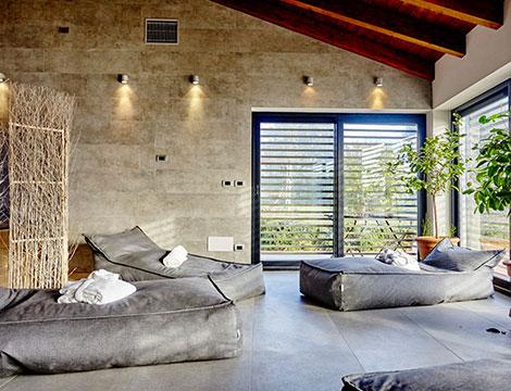 relais i Castagnoni spa area relax interna