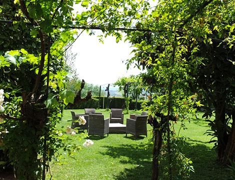 relais i Castagnoni spa il giardino