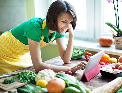 Menu ricette dietetiche e salutari